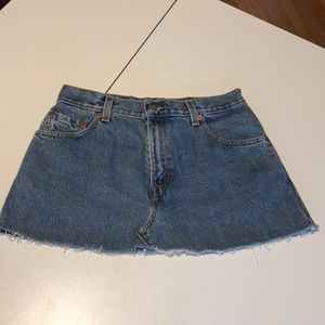 Levis 550 Jeans Skirt 8
